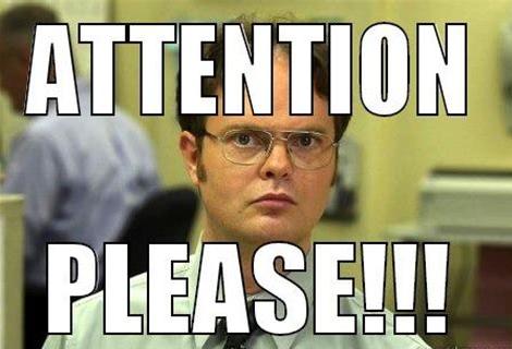 Attention Meme
