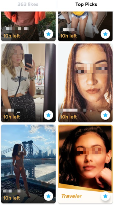 Tinder Gold intro picture